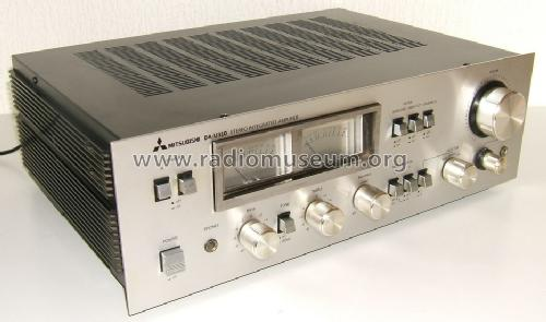 Stereo Integrated Amplifier DA-U310; Mitsubishi Electric (ID = 1578673) Ampl/Mixer