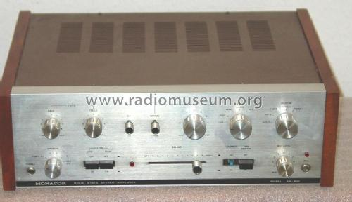 Solid State Stereo Amplifier SA-800; Monacor, Bremen (ID = 111364) Verst/Mix