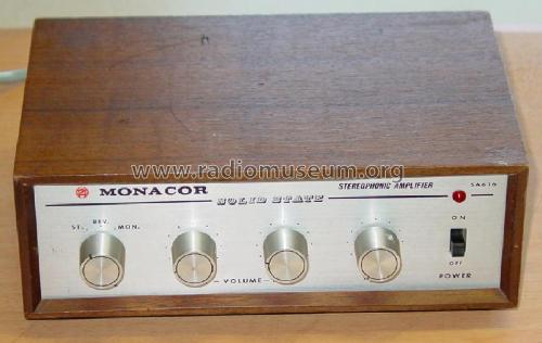 Stereophonic Amplifier SA-616 W Ampl Aged