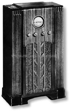 Airline 62-215 Order= 662 A 215; Montgomery Ward & Co (ID = 703941) Radio