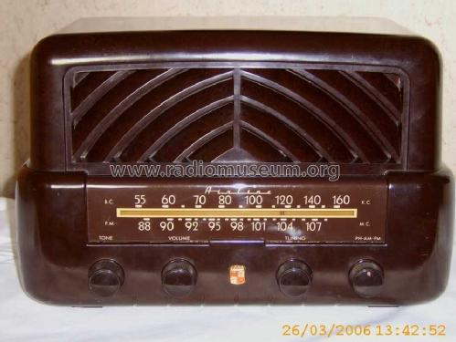 Airline 94BR-1535A Order= 62 C 1535 R ; Montgomery Ward & Co (ID = 195710) Radio
