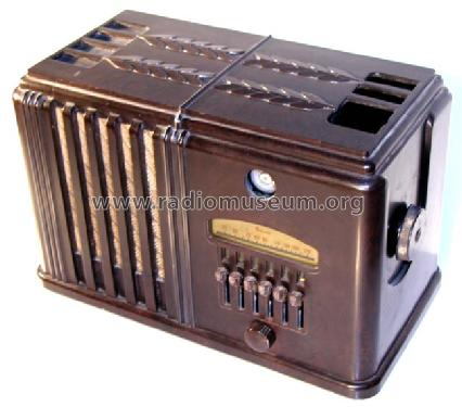 Airline 280 Order= P462 C 280; Montgomery Ward & Co (ID = 266574) Radio