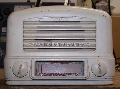 Airline 64BR-1502A; Montgomery Ward & Co (ID = 913656) Radio