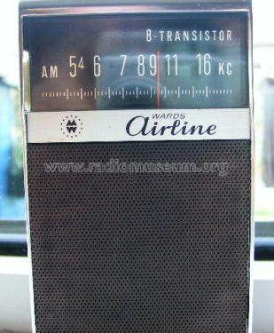 Wards Airline 8-Transistor Radio Montgomery Ward & Co