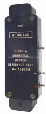 Industrial Weston Reference Cell D-845-A; Muirhead & Co. Ltd., (ID = 1720148) Equipment