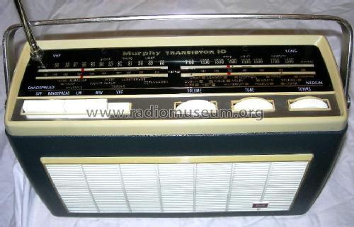 Transistor 10 B831 Radio Murphy Radio Ltd   Welwyn Garden Ci