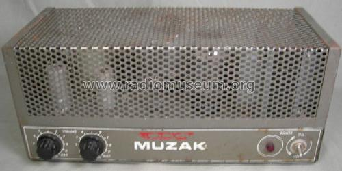 Antique Radio Forums • View topic - Muzak Amplifier Model