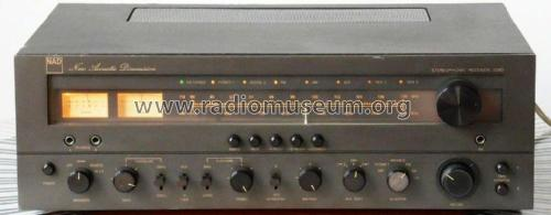 AM/FM Stereo Receiver 7080; NAD, New Acoustic (ID = 2595035) Radio