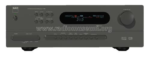 AV Surround Sound Receiver T744; NAD, New Acoustic (ID = 2082869) Radio