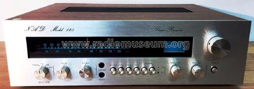 Stereo Receiver Model 120; NAD, New Acoustic (ID = 2080465) Radio