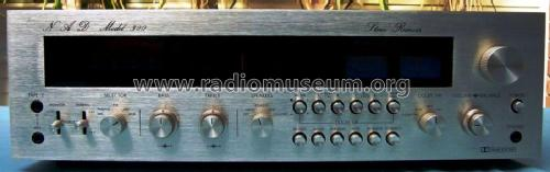 FM/AM Stereo Receiver Model 300; NAD, New Acoustic (ID = 1978013) Radio