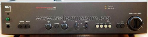 Monitor Series Stereo Amplifier 3100 Power Envelope; NAD, New Acoustic (ID = 2381800) Ampl/Mixer