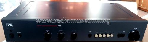 Monitor Series Stereo Preamplifier 1000; NAD, New Acoustic (ID = 2383430) Ampl/Mixer