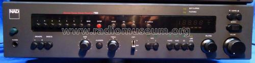 Monitor Series Stereo Receiver 7100; NAD, New Acoustic (ID = 2345633) Radio