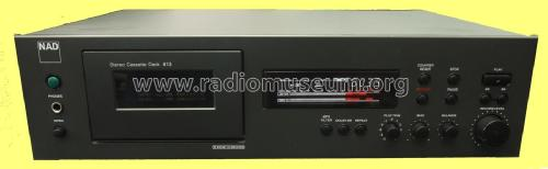 Stereo Cassette Deck 613; NAD, New Acoustic (ID = 1896247) R-Player