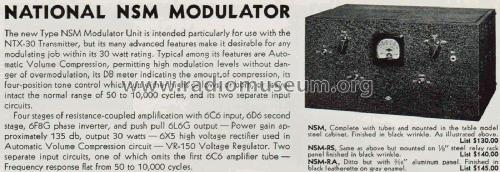 Modulator NSM; National Company; (ID = 2050972) Amateur-D