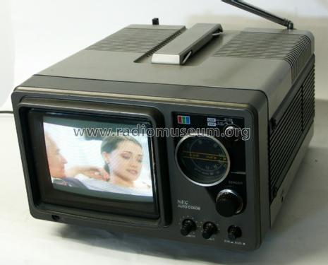 16 cm Auto Color Portable CT-6A1P-2B2; NEC, Nippon Electric (ID = 1015786) Television