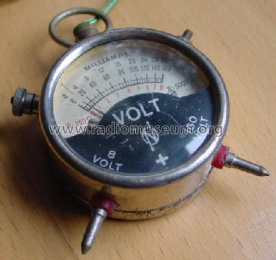 Taschen-Voltmeter TED; Neuberger, Josef; (ID = 316733) Equipment
