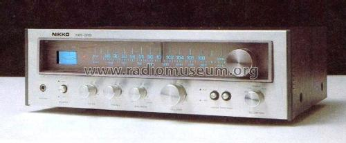 AM/FM Stereo Receiver NR-315; Nikko Electric (ID = 2517027) Radio