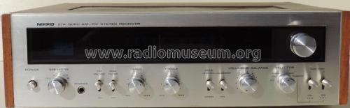 AM/FM Stereo Receiver STA-6060; Nikko Electric (ID = 2341138) Radio