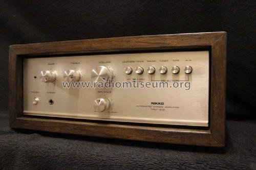 Integrated Stereo Amplifier TRM-210 D; Nikko Electric (ID = 1683737) Ampl/Mixer