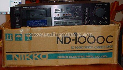ND-1000C; Nikko Electric (ID = 917138) R-Player