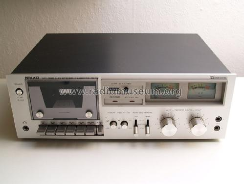 HiFi Stereo Cassette Deck ND-390; Nikko Electric (ID = 1689791) R-Player