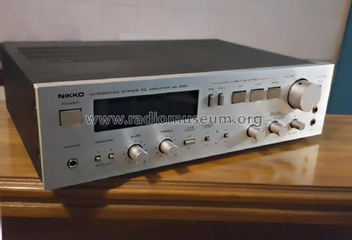 Integrated Stereo Amplifier NA-1090; Nikko Electric (ID = 2111037) Ampl/Mixer