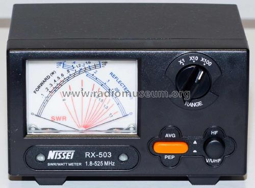 SWR/Watt Meter RC-503; Nissei Sokki Co. Ltd (ID = 1973567) Equipment
