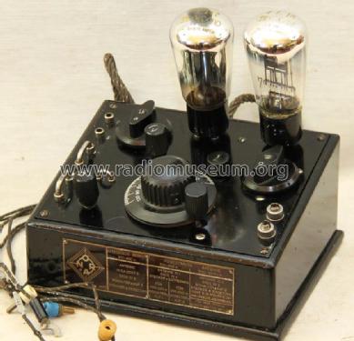 Triplex Form P3a Radio Nora; Berlin, build 1927–