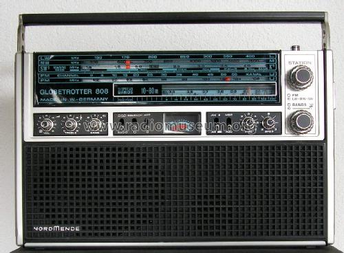 Globetrotter 808 8.104A; Nordmende, (ID = 83012) Radio