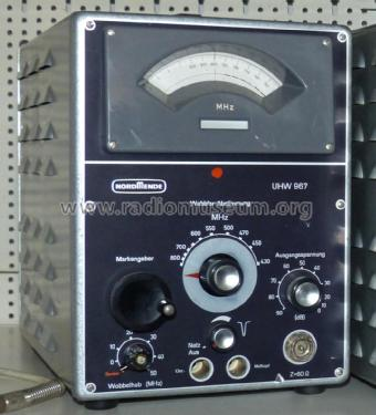 UHF Wobbler UHW 967; Nordmende, (ID = 2022130) Equipment