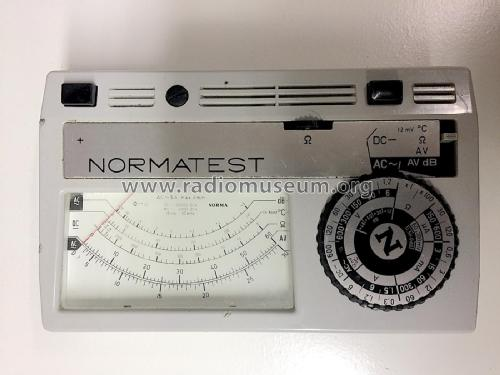 Normatest ; NORMA Messtechnik (ID = 2219273) Equipment
