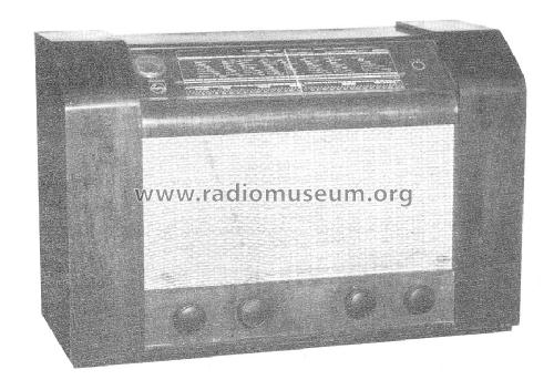 BN572A; Philips Norway Norsk (ID = 1503403) Radio