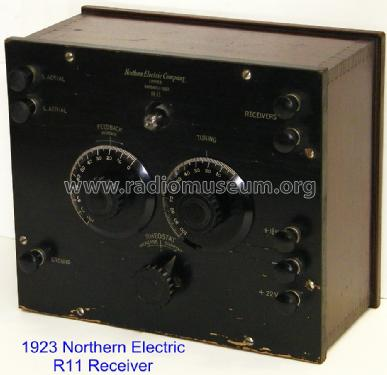 Regenerative Receiver R-11; Northern Electric Co (ID = 1058965) Radio