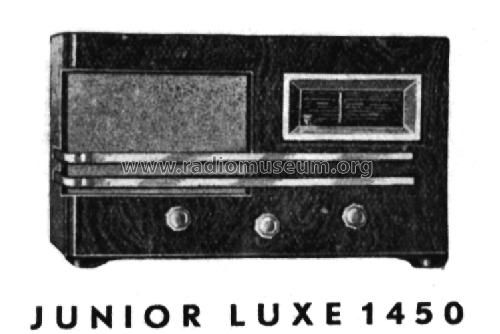 Junior Luxe 1450; Novak also Pontiac; (ID = 163259) Radio