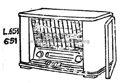 l651 radio novak also pontiac  bruxelles  build 1954  1 pict