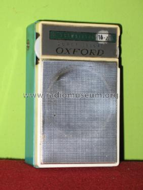 Oxford Super Deluxe 6 Transistor TRN-6040; Unknown - CUSTOM (ID = 1042804) Radio