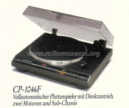 Automatic Direct Drive Turntable CP-1046F; Onkyo, Osaka Denki (ID = 1816285) Sonido-V