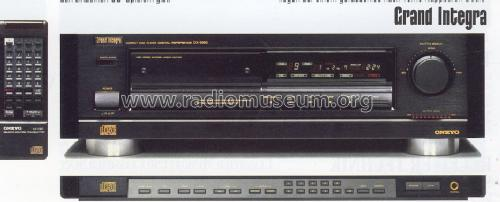 Compact Disc Player Digital Reference DX-6990; Onkyo; Osaka (ID = 1247430) R-Player