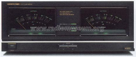 Integra Stereo Power Amplifier M-5570 Ampl/Mixer Onkyo