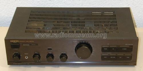 Integrated Stereo Amplifier A-8420; Onkyo; Osaka (ID = 2120290) Ampl/Mixer