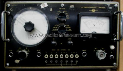 A.F. Power Generator -P.P.P. Amplifier HGH 42-60; Orion; Budapest (ID = 1587123) Equipment