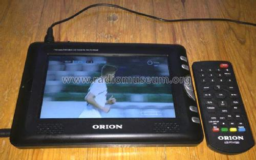 432c681e21151 LCD Portable Colour Television LCD PTV 722 D; Orion; Budapest (ID = 1823220