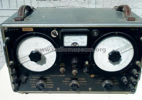 R-L-C-fo Meter TR-2102; Orion; Budapest (ID = 2278636) Equipment