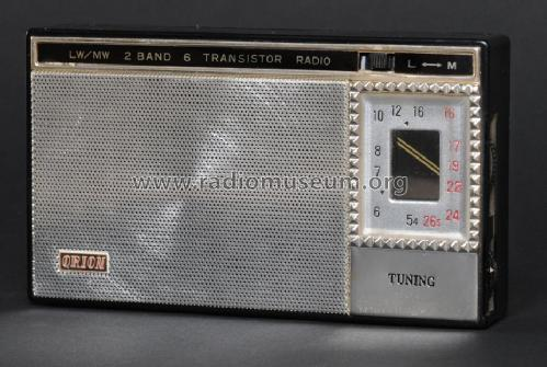 2 Band 6 Transistor Radio LM-610; Orion Electric Co., (ID = 747435) Radio