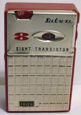 Deluxe - 8 - Eight Transistor HT-8041; Orion Electric Co., (ID = 859964) Radio