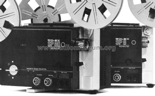 Bolex Magnetic Sound Projector SP 80 Special; Paillard AG; St. (ID = 2462161) R-Player
