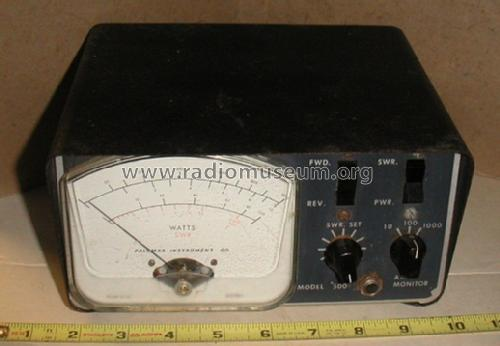 Watt & SWR Meter 500; Palomar Electronics (ID = 1007104) Equipment