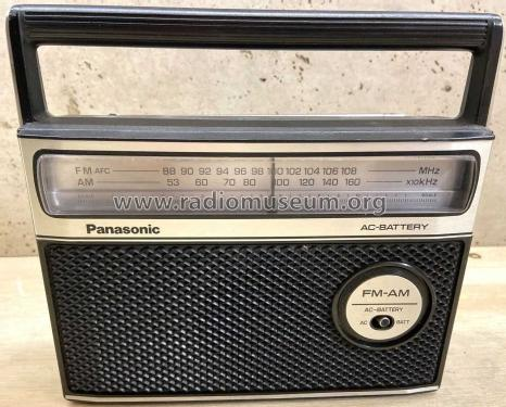 AC-Battery FM-AM RF-549; Panasonic, (ID = 2535409) Radio